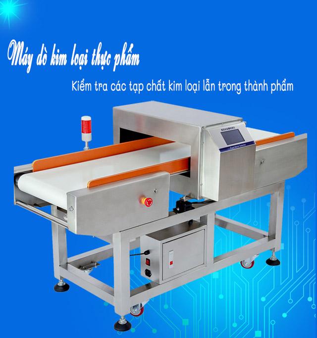 máy dò kim loại trong chế biến thực phẩm