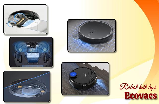 Robot lau nhà Ecovacs đa dạng tính năng