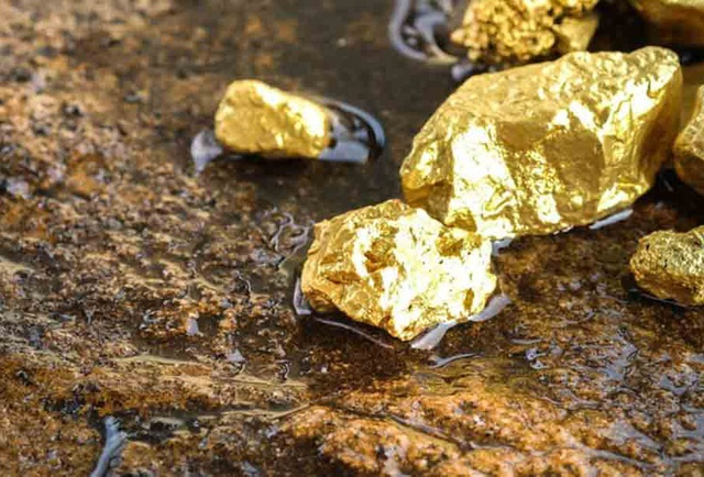 cách tìm vàng ở suối