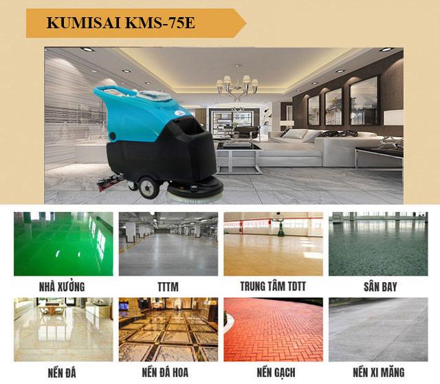 Kumisai KMS-75E có tính ứng dụng cao