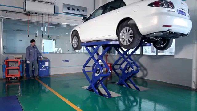 Giá cầu nâng cắt kéo