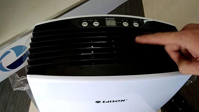 ưu điểm vượt trội của máy hút ẩm Edison