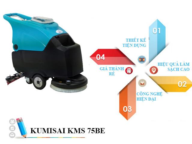 Kumisai KMS-75BE được người dùng đánh giá cao cả về thiết kế lẫn chất lượng
