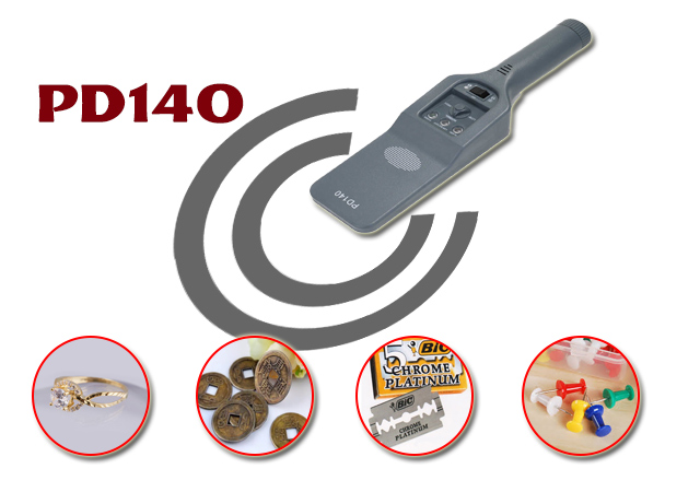 Thiết bị rà soát kim loại PD140