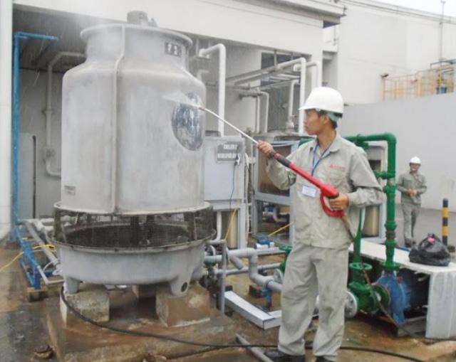 bảo trì tháp giải nhiệt nước