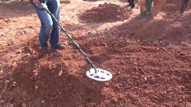 Dò tìm khoáng sản dưới mặt đất