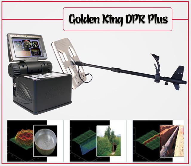 máy dò hình ảnh 3 chiều Golden King DPR Plus