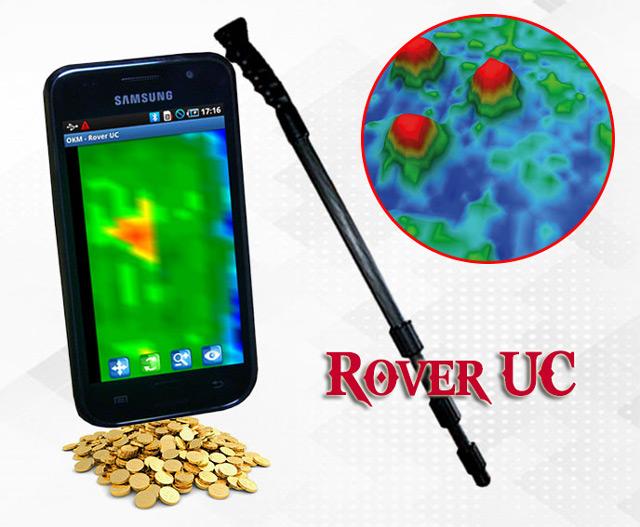 máy dò kim loại hình ảnh Rover UC