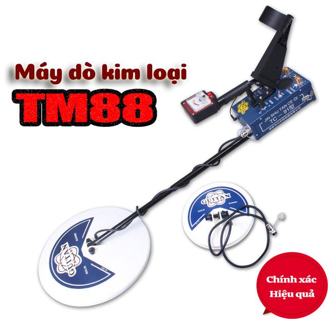 Máy dò kim loại TM88 được đánh giá cao