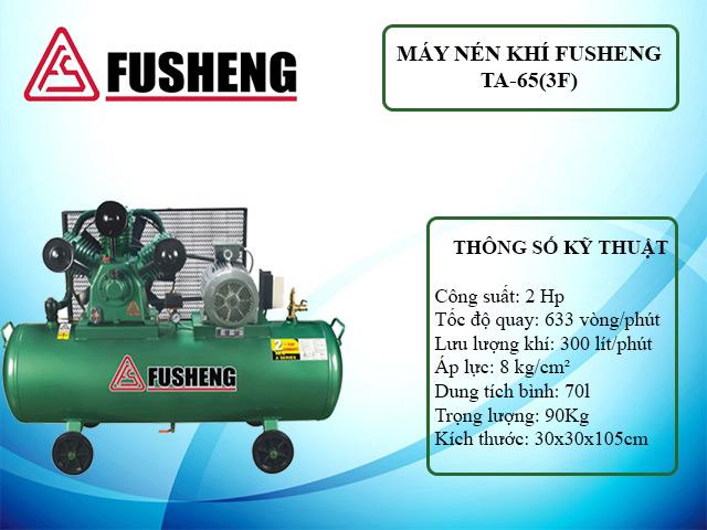Model nén khí Fusheng TA-65(3F)