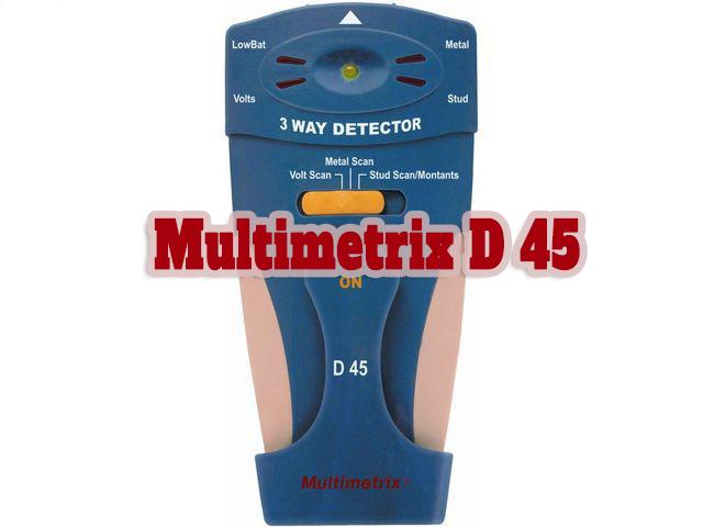 Máy dò dây điện âm tường Multimetrix D 45