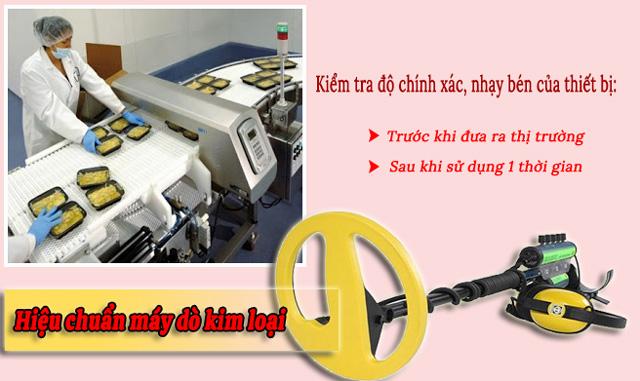 quy trình hiệu chuẩn máy dò kim loại