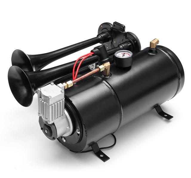 Máy bơm hơi mini 12V là thiết bị sử dụng dòng điện 1 chiều 12V