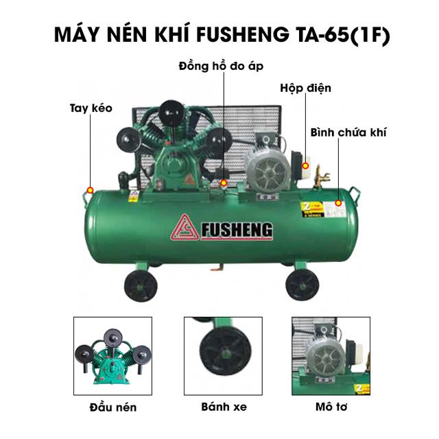 Fusheng TA-65(1F) - Thiết bị nén khí mini được nhiều người ưa chuộng