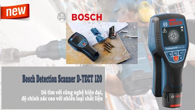 Bosch Detection Scanner D-TECT 120