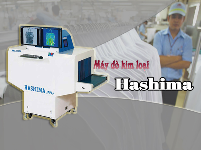 máy dò kim loại hashima