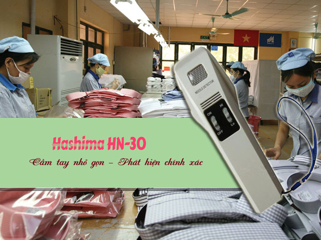 máy dò kim loại cầm tay hashima
