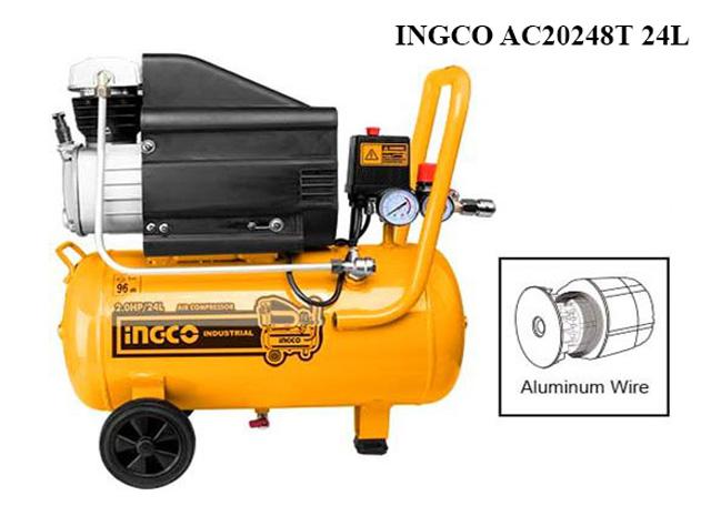 Ingco AC20248T 24L - Hiện đại và tiện dụng