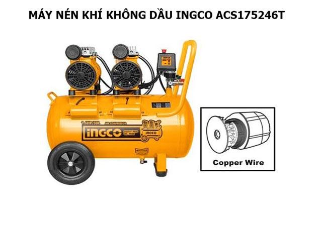 Model nén hơi Ingco ACS215506T