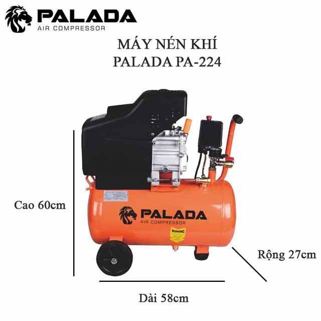 Model nén khí mini 220V Palada PA-224