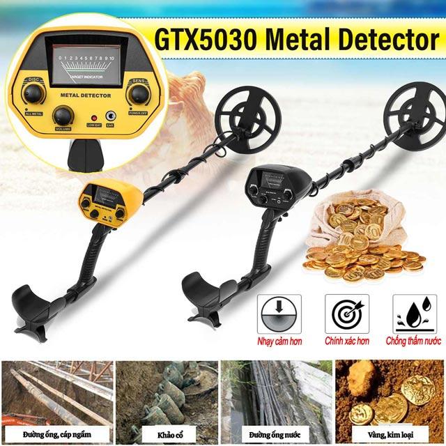 Máy dò vàng, dò kim loại GTX5030