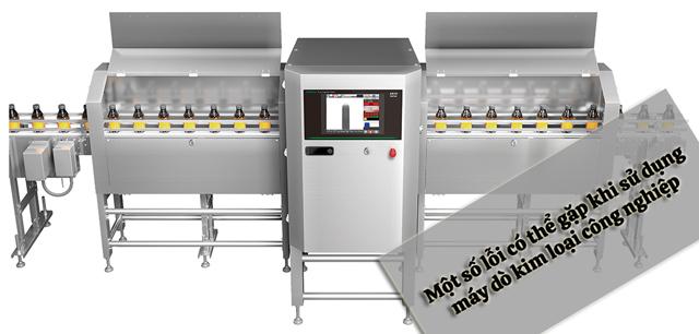 máy dò kim loại anritsu công nghiệp