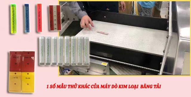 thẻ thử kim loại máy dò kim