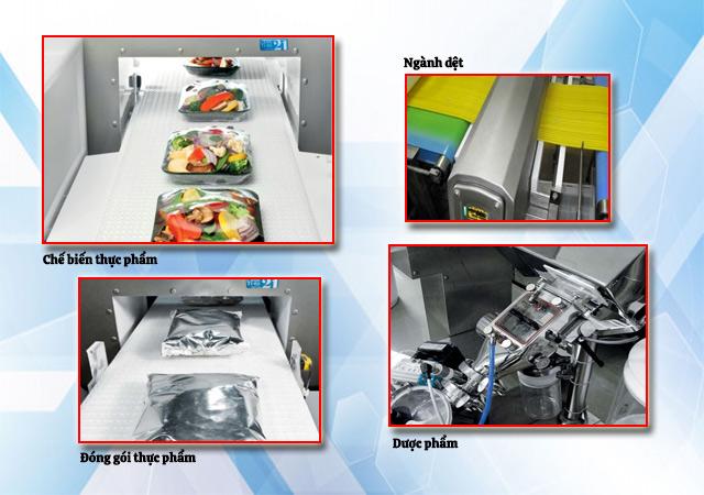 máy dò kim loại công nghiệp phổ biến